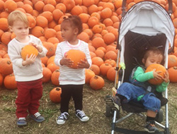 Pumpkin Patch Visit